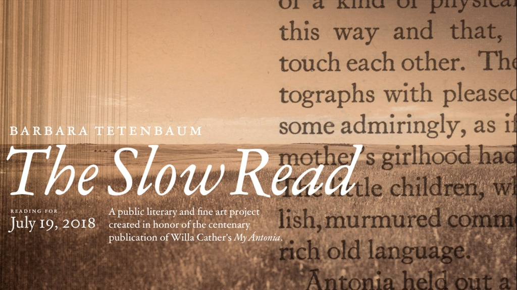 The Slow Read project video thumbnail
