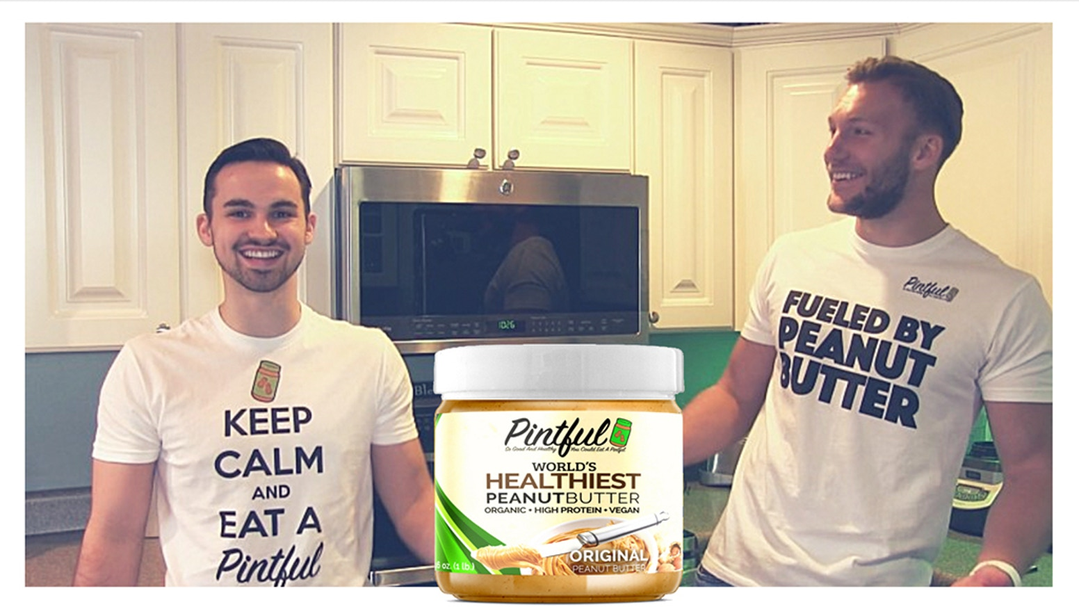 The Only Peanut Butter with 50% More Protein with No Added Sugars, Preservatives, or Oils! Get Pintful at the link below! ⬇️⬇️⬇️
