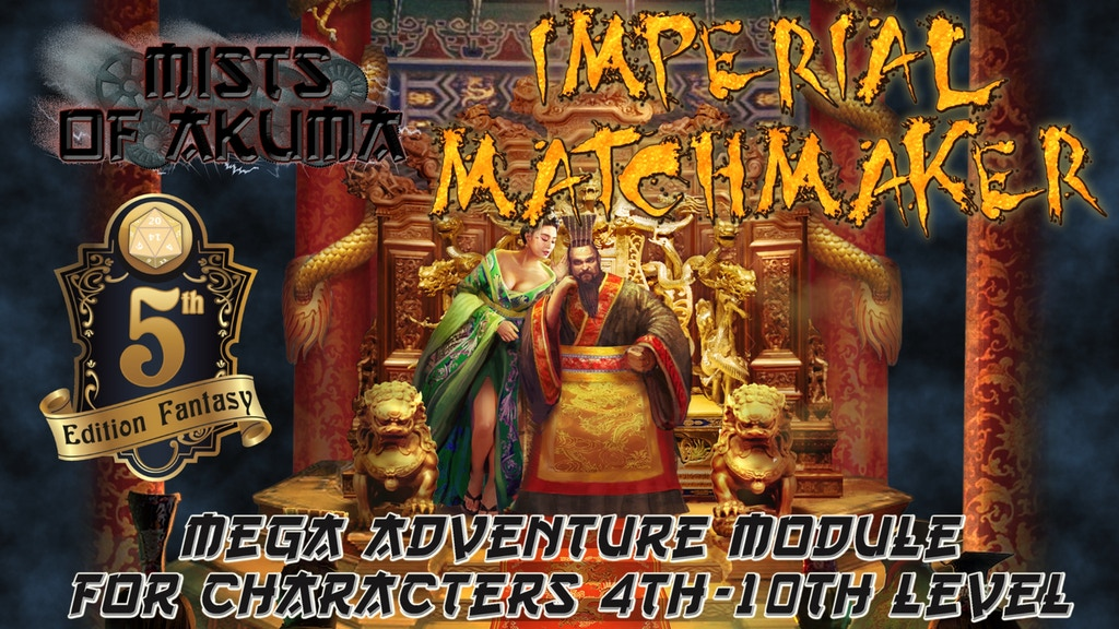 Project image for Mists of Akuma: Imperial Matchmaker (5E RPG mega adventure) (Canceled)