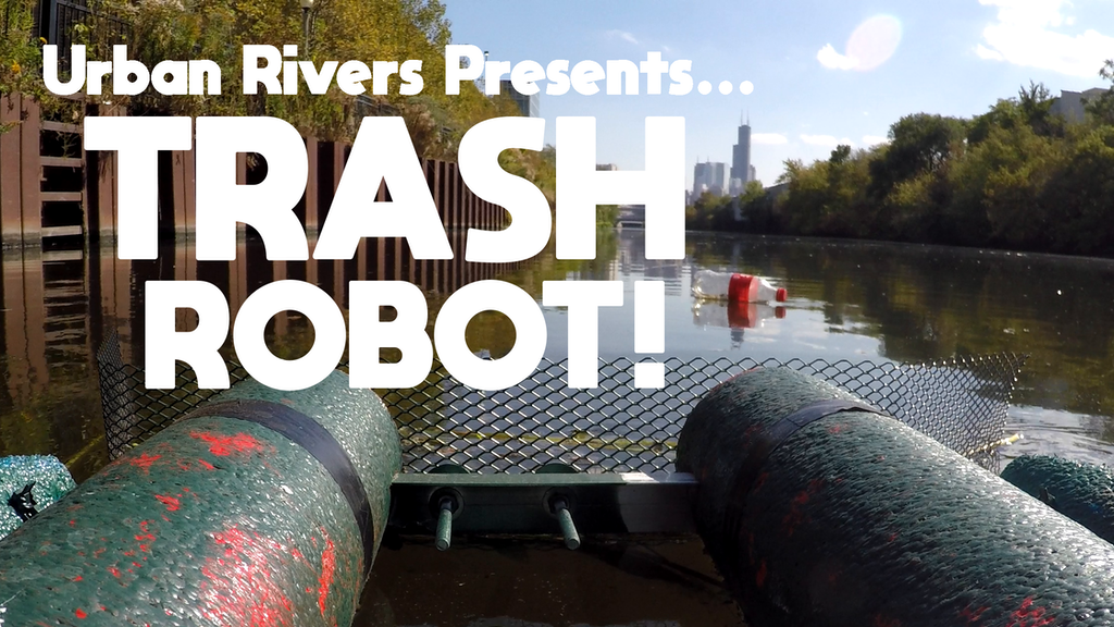 Trash cleaning robot controlled by you. project video thumbnail