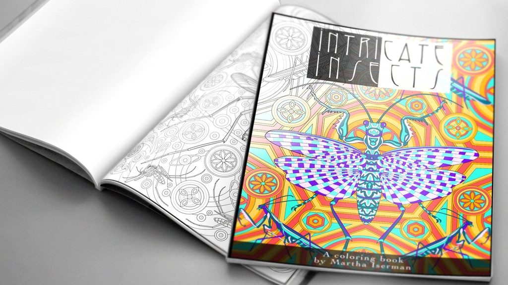 Intricate Insects-A Choose Your Own Difficulty Coloring Book project video thumbnail