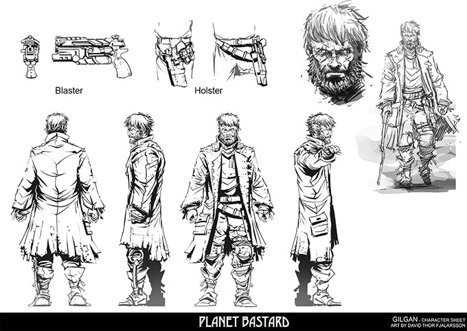 Planet Bastard Vol 1 By Brandon Young Kickstarter