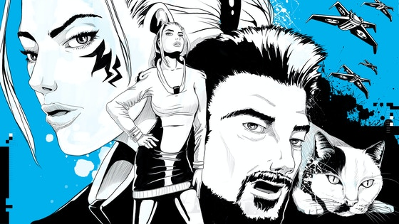 THE COMMON GOOD - A satiric cyberpunk comic