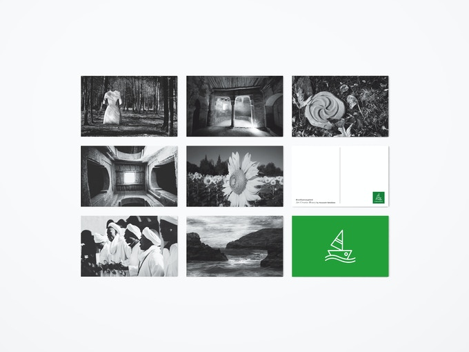 Set of 7 Confluence Postcards