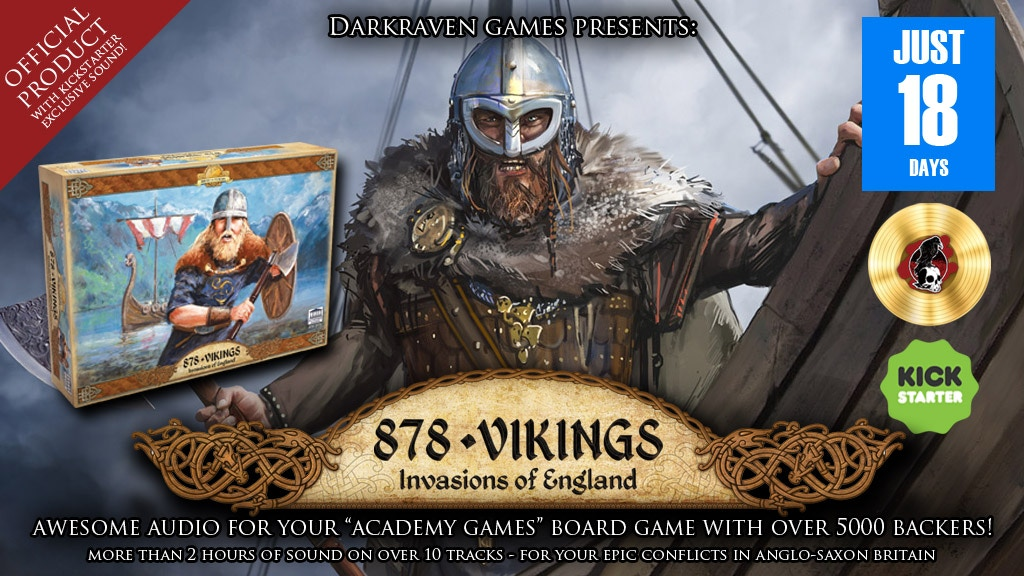 878 Vikings - Official Audio To Bring Your Game To Life project video thumbnail
