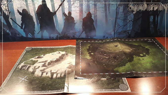 A3 adventure maps from previous Symbaroum products