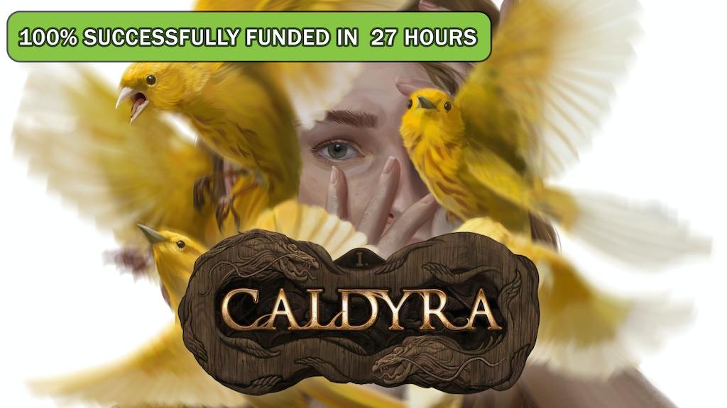 Caldyra, an Illustrated fantasy novel. project video thumbnail