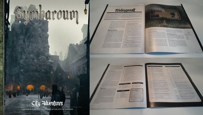 Images to the right are from the Swedish version of Adventure Pack 1
