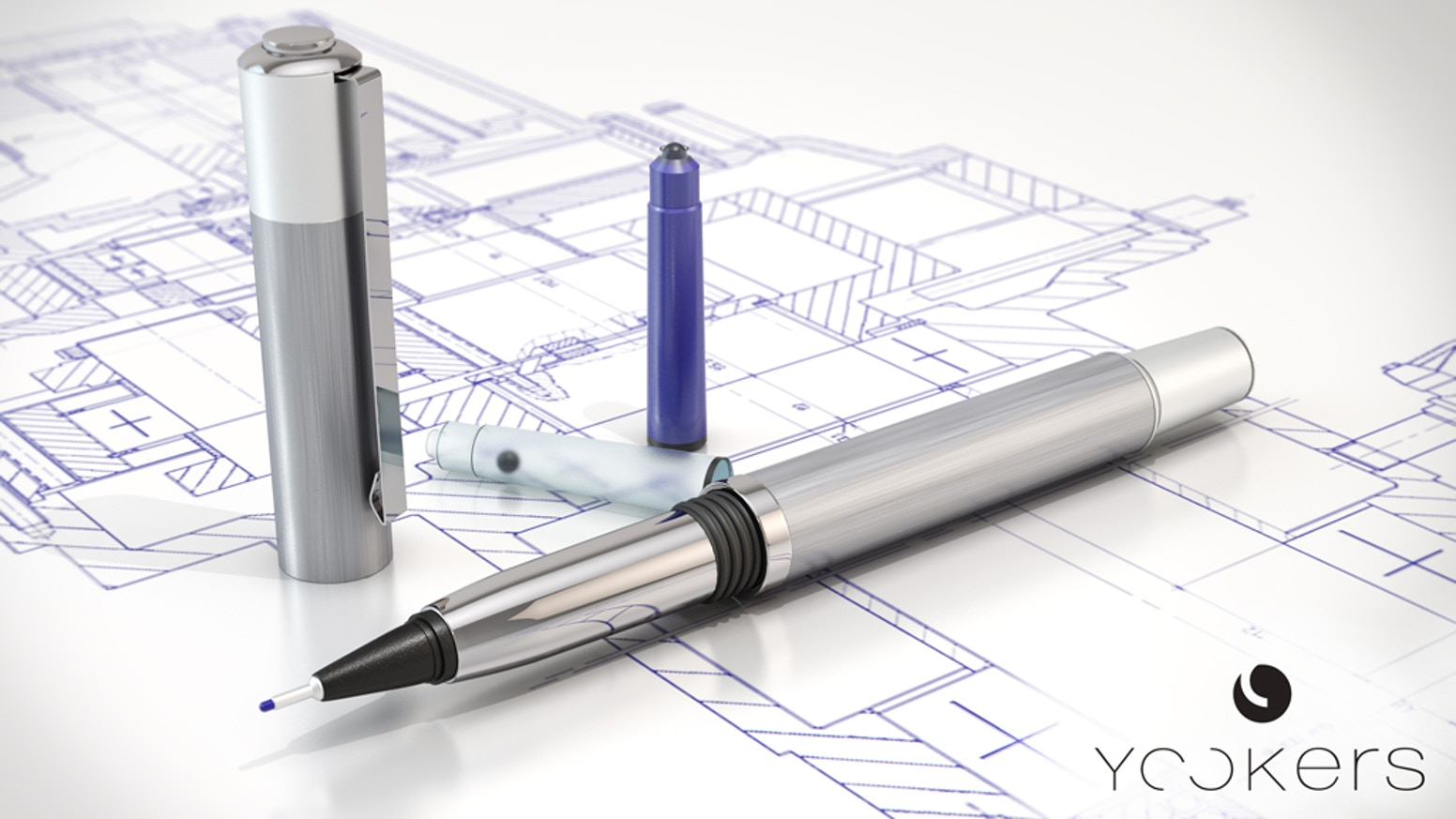 YOOKERS | First refillable felt-tip pen with cartridges is the top crowdfunding project launched today. YOOKERS | First refillable felt-tip pen with cartridges raised over $290804 from 592 backers. Other top projects include Hold the Line: The American Civil War, P.S. Poems, CREATIVE URBAN GARDENING PROJECTS...