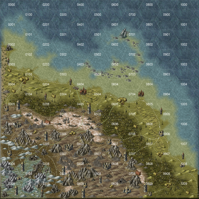 Map Cell Hexcrawl Coded