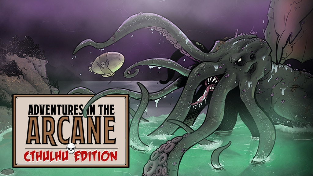 Adventures in the Arcane: Cthulhu Edition project video thumbnail