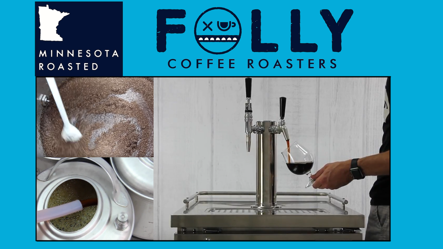 Minnesota Craft Cold Brew on tap- Folly Coffee Roasters by Folly ...