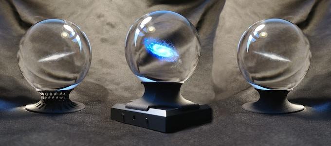Hexgrid Base, LED Set, Round Base