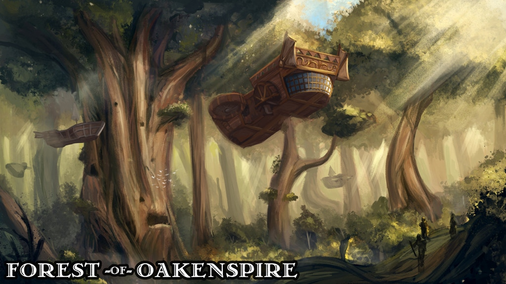 Forest of Oakenspire - 3D Printable Tabletop Models project video thumbnail