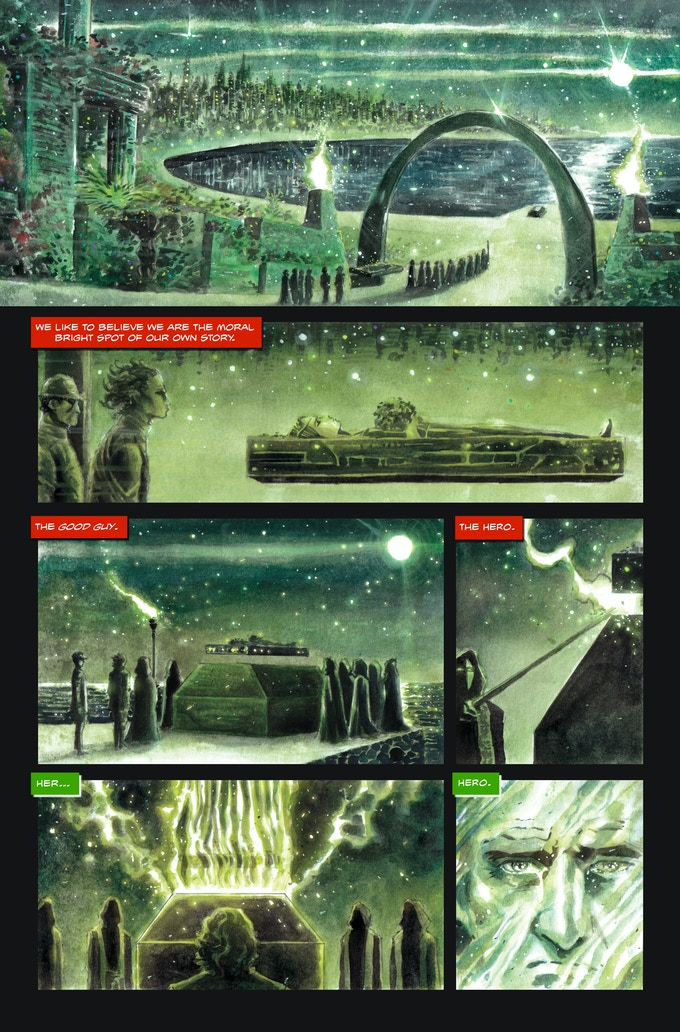 The Black Suit of Death #2 page 2