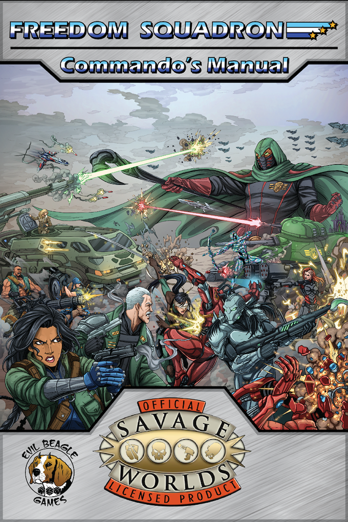Freedom squadron a savage worlds setting by spyglass for Bureau 13 savage worlds