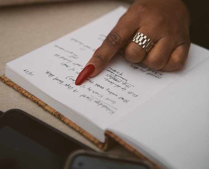 """Write it down on real paper with a real pencil. And watch sh*t get real.""  -Erykah Badu"