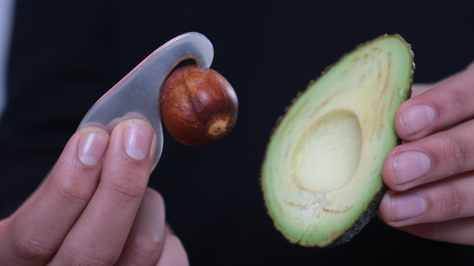 'Avocado hand' could be thing of past with our nifty tool. The Avogo is designed to be compact, portable and safer than using a knife.