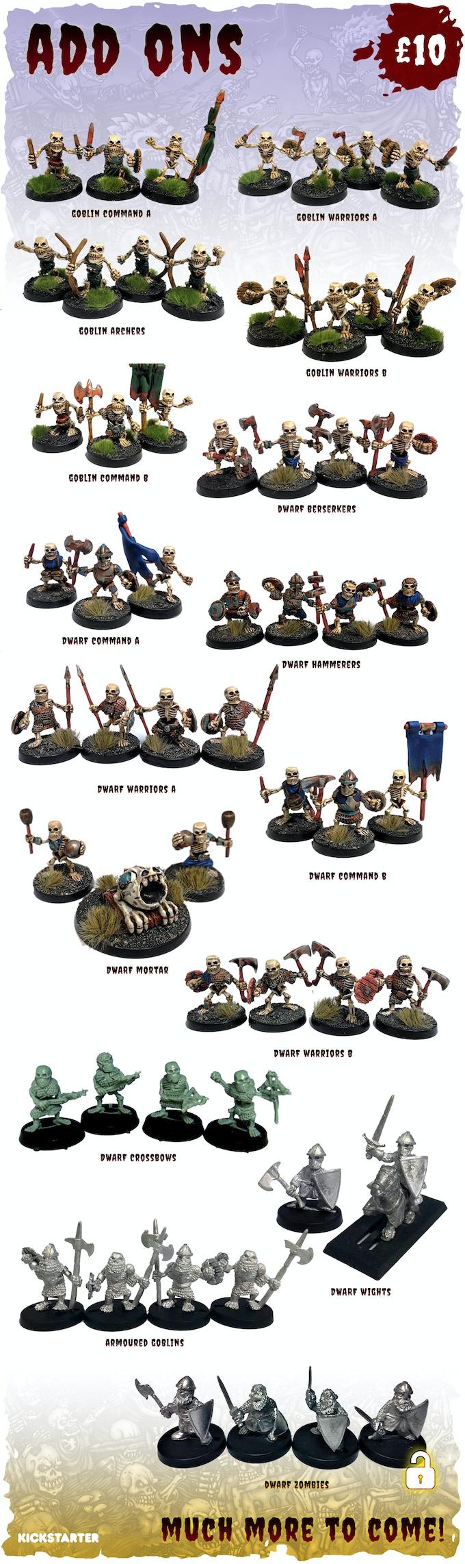 £10 Per Set Of Miniatures