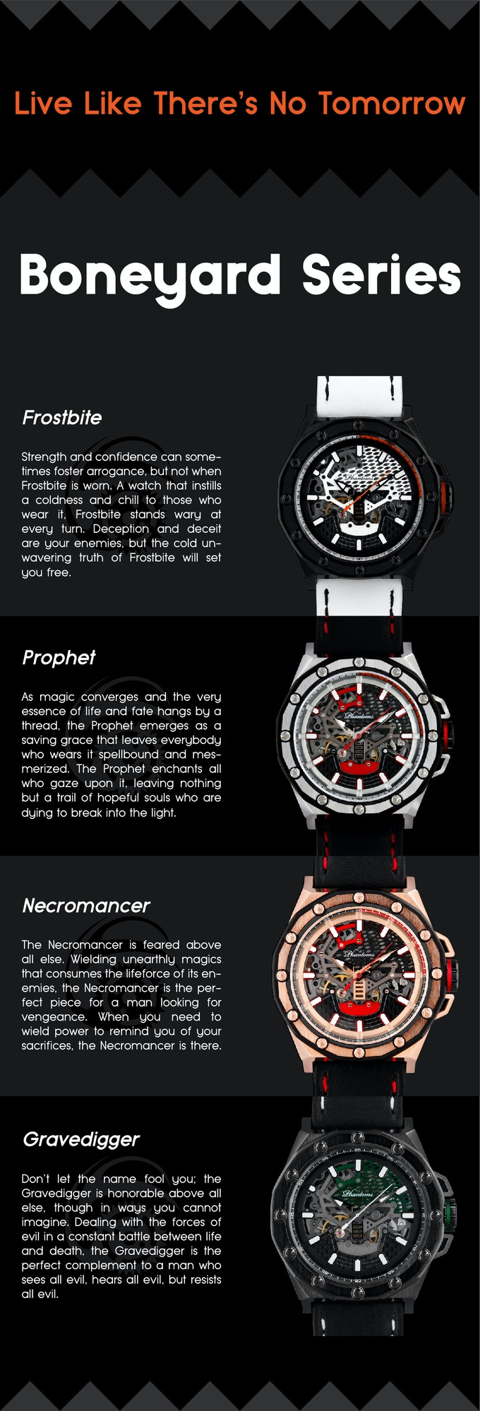 One Of The Most Detailed Mechanical Skeleton Automatic Watch by