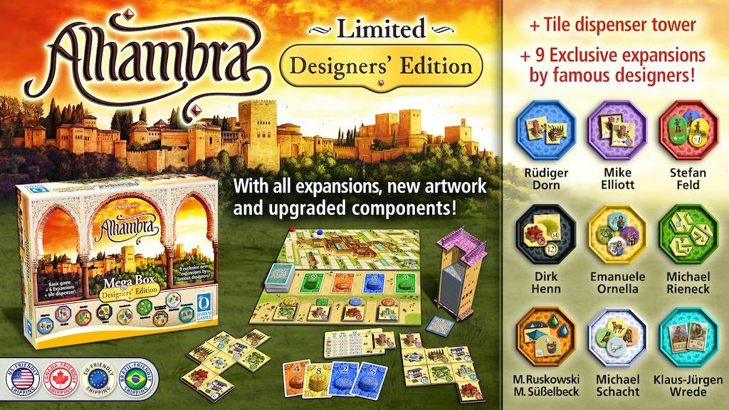 [PG clos]Alhambra Designer's Edition MegaBox – fin 25 mai 18