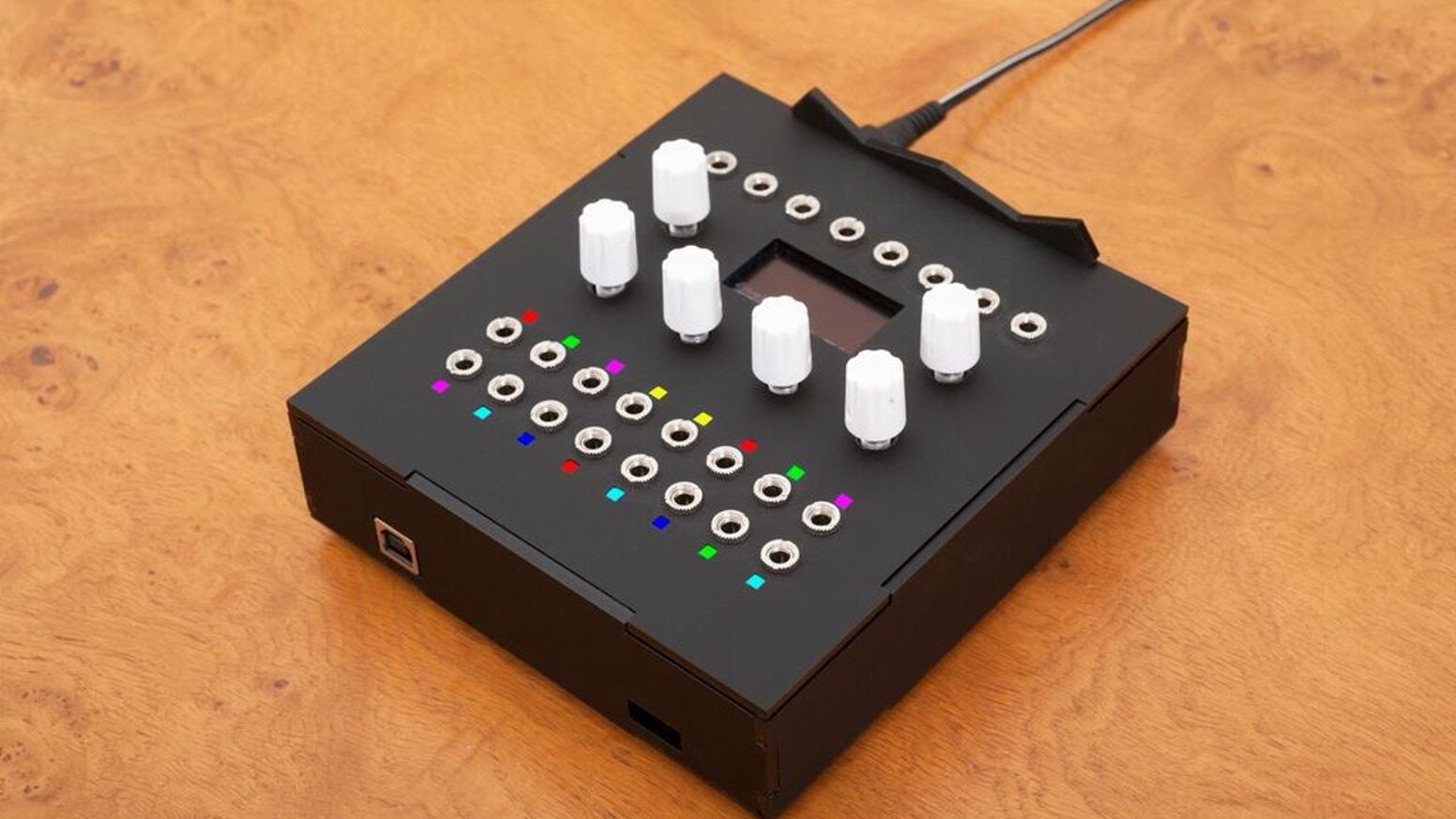 Algorithms are modern day magic spells. Add magic to your music with the Magus, a patchable, programmable synthesizer toolkit.