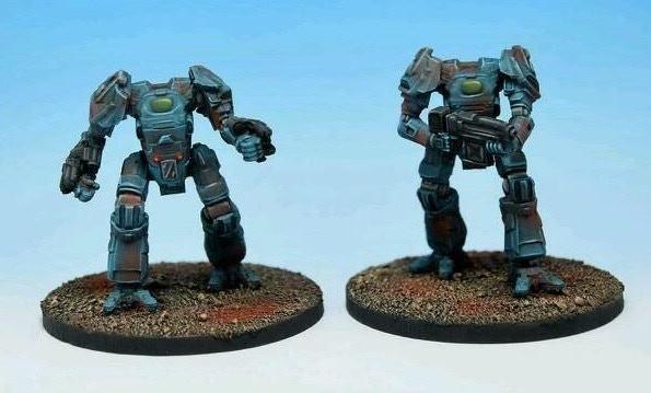 Terran battleloids ready for action!.