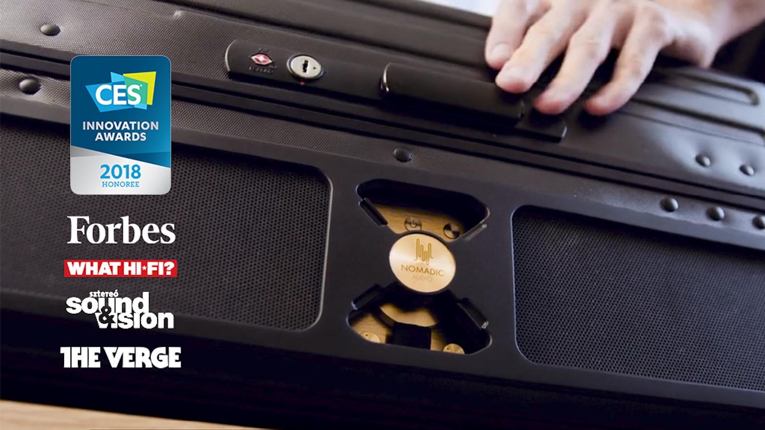 Nomadic Audio | Massive HiFi Speaker for Travelers