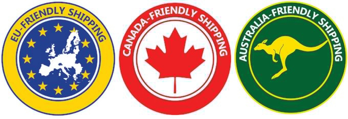 No Hidden Shipping, VAT, or Customs Fees