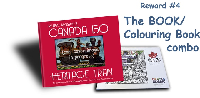 The BOOK / Colouring Book Combo(see reward #4)