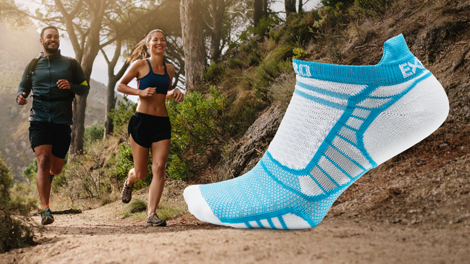 Up to 30% lighter than leading ultra-light running socks, yet virtually eliminates painful chafing, hot spots, and blisters.