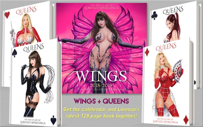 WINGS AND QUEENS