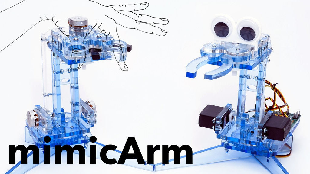 mimicArm: Learn to Code Your Own A.I. Robot project video thumbnail