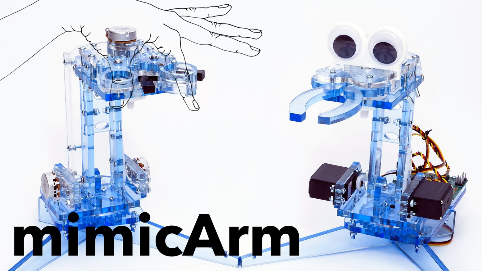 A simple, approachable, programmable robot arm. Learn to program a robot that can interact with humans, make decisions, and learn.