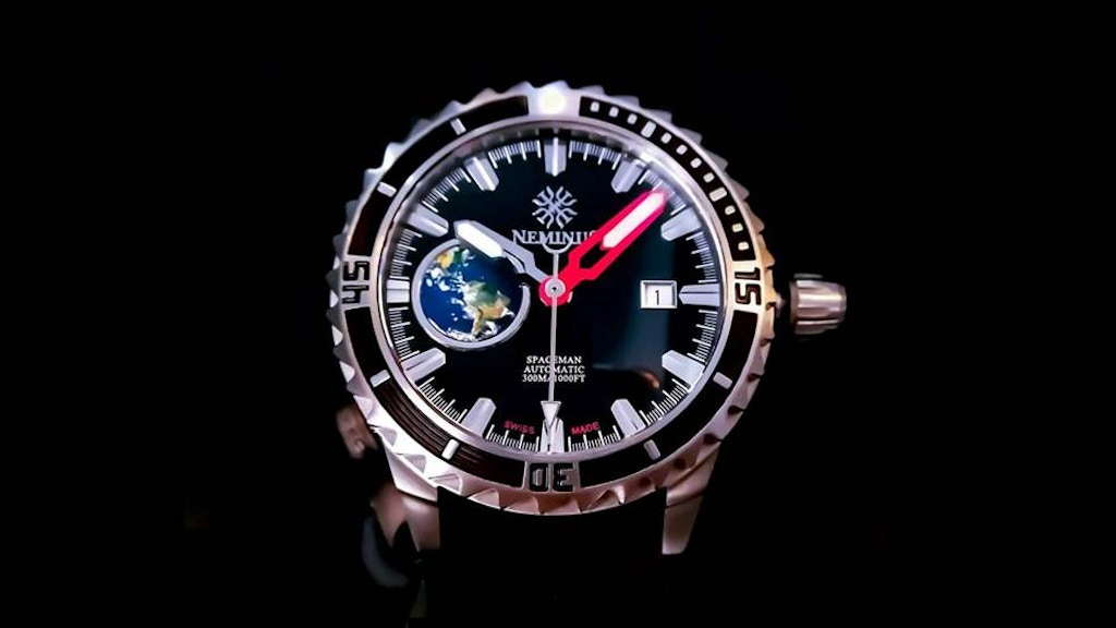 Neminus Spacemen Watches - Built For Those Who DARE! project video thumbnail