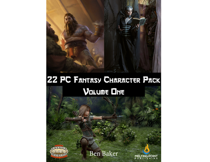 Fantasy PC Pack Volume One cover