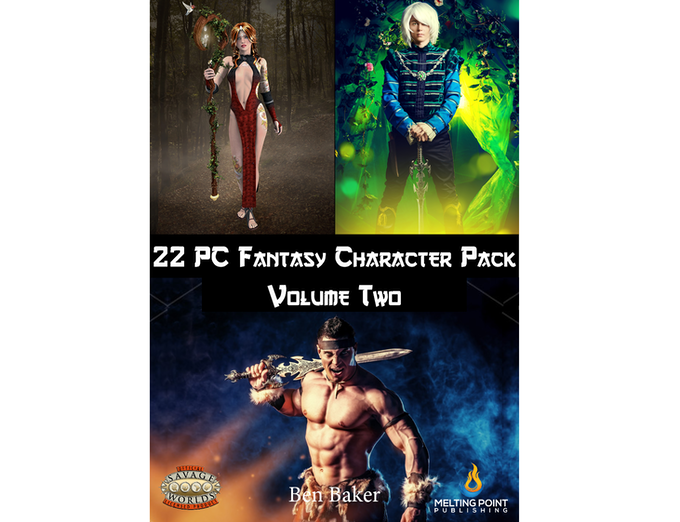 Fantasy PC Pack Volume Two cover