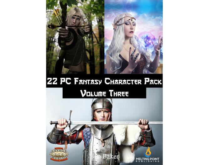 Fantasy PC Pack Volume Three cover