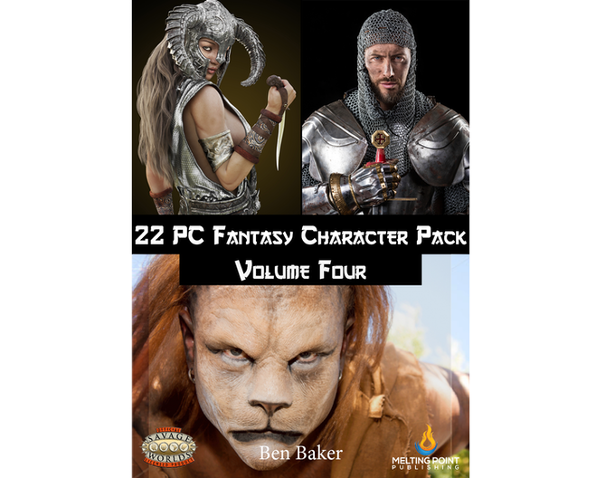 Fantasy PC Pack Volume Four cover