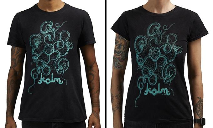 Kolm 'Haeckel' t-shirt