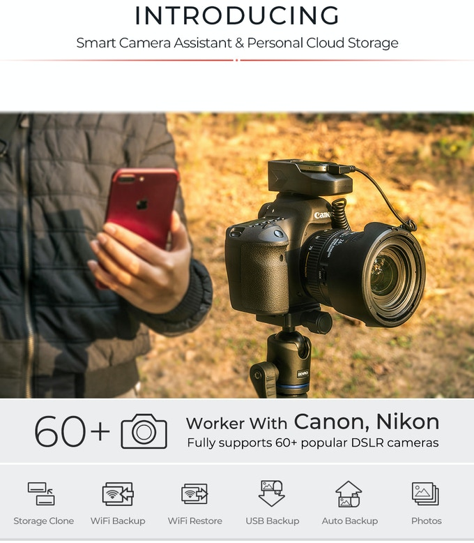 The ultimate camera assistant for over 60 DSLR models