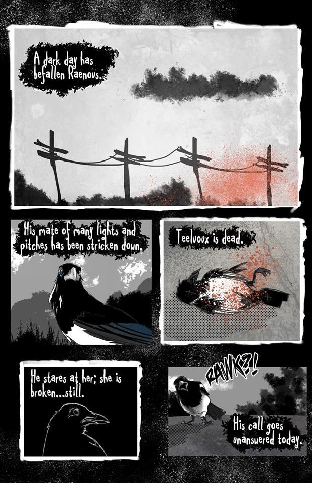 """Page 1 of """"Lastelscia"""" (2012)"""