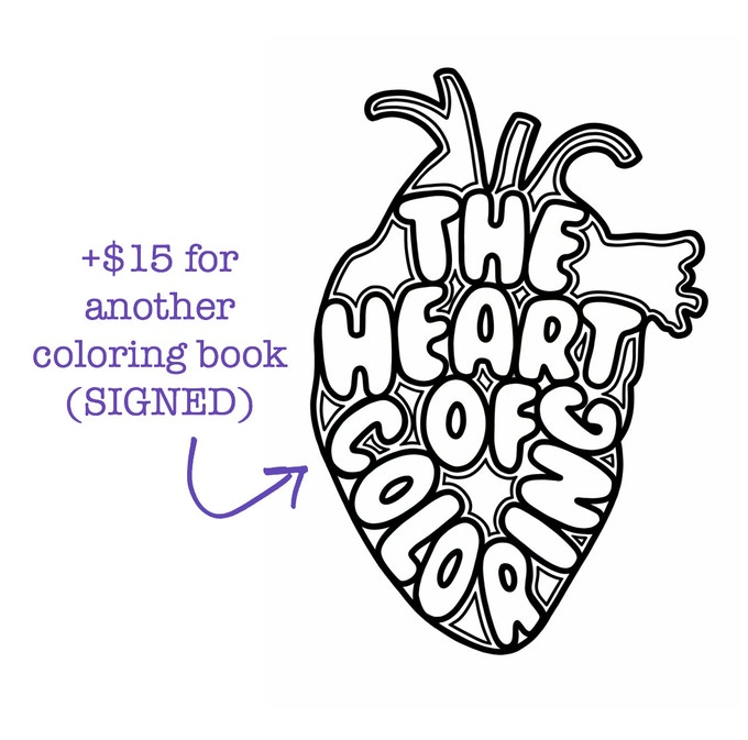 If You Pledge At Least 12 Add On 15 For An Additional Signed Coloring Book