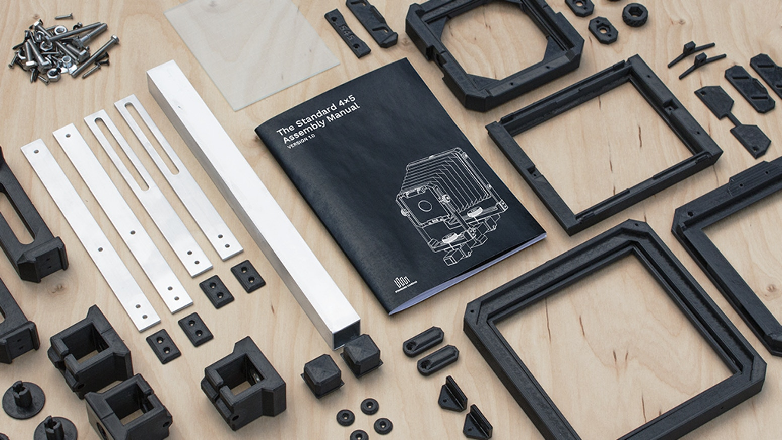 The Standard 4x5 - Build Your Own Large Format Camera by Drew