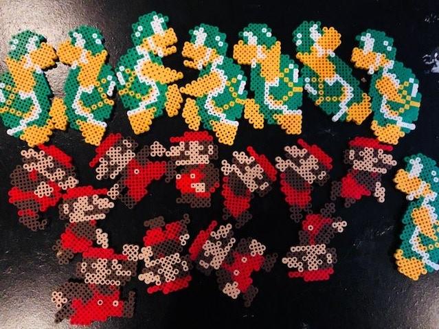 Super Mario Bros Stop Motion Pixel Art By Guiz De Pessemier