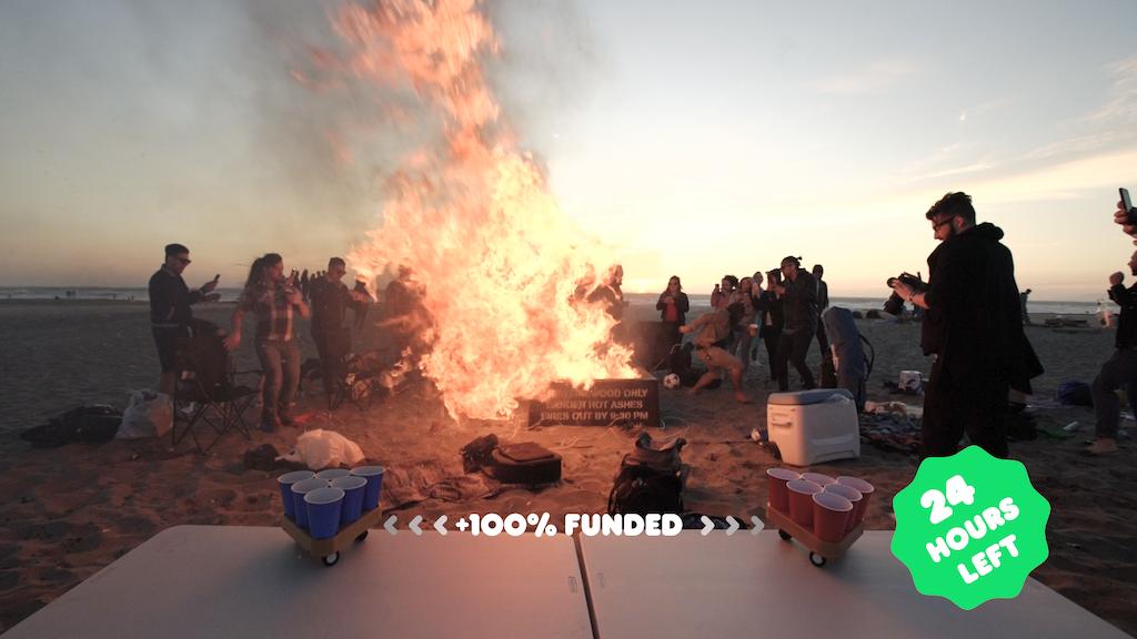 Bruu | Moving Beer Pong Robot project video thumbnail
