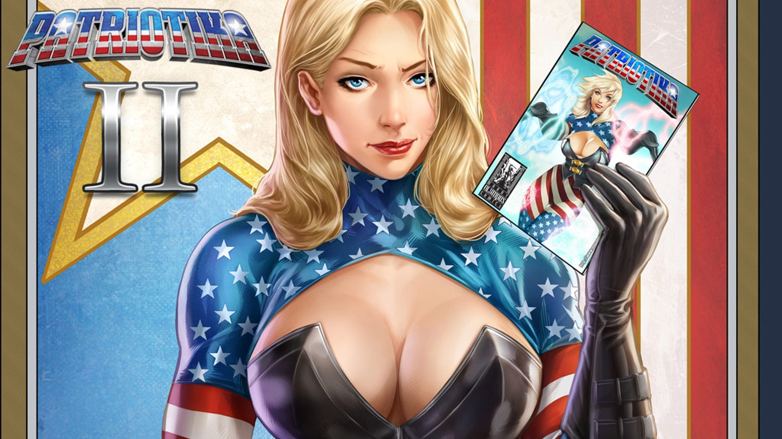 The second issue of Patriotika is here! Can Patriotika handle Gods, monsters and ninjas?!