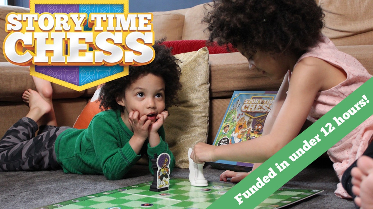 Help your child get ahead with silly, fun stories that teach children 3 and up how to play chess. No chess experience required.
