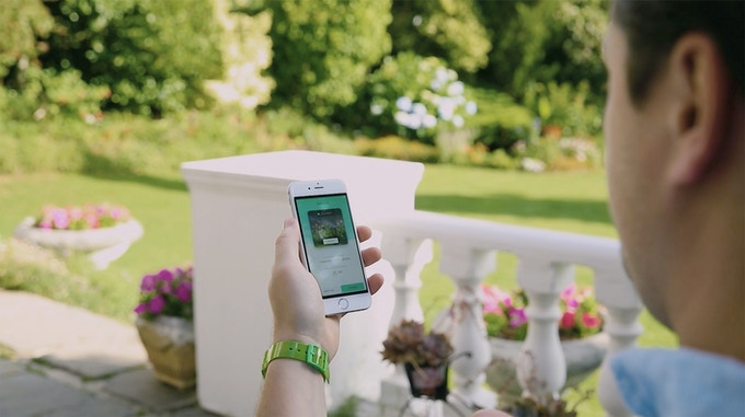 Control your Garden with your Phone