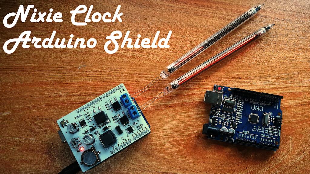 Nixie Clock Arduino Shield project video thumbnail